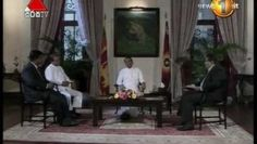 A Special Interview with President MaithriPala Sirisena