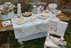 by Cynthia's Cottage Miniatures, Etsy