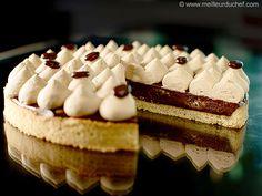 Tarte chocolat/café - Meilleur du Chef