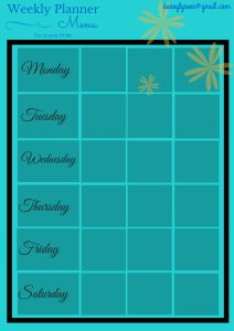 Thermomix Menu Planner