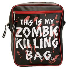Messenger Bag - Zombie Killer...OK THIS, I am BUYING!!!!