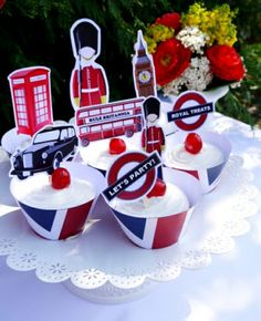 British London Inspired Party with lots of fun DIY details - Great for One Directioners, Paddington Bear birthday or even a Wedding