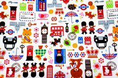 Japanese Fabric London theme. $4.98, via Etsy.