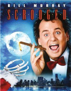 Scrooged Cross, who made the meteoric rise from the depths of the mailroom to TV network presdient, is mean, nasty, uncaring, unforgiving and has a sadistic sense of humour - perfect qulaities for a modern-day Scrooge. Before the night is over, he'll be visited by a maniacal New York cab driver from the past, a present-day fairy who's into pratfalls and, finally, a ghoulish, seven-foot headless messenger from the future.