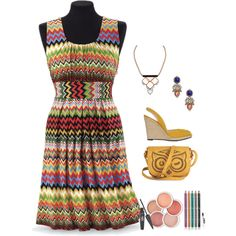 - Summer to Fall Dress -