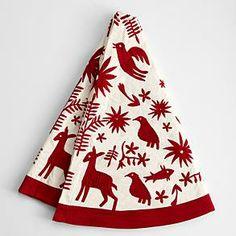 Otomi christmas tree skirt from RedEnvelope.com