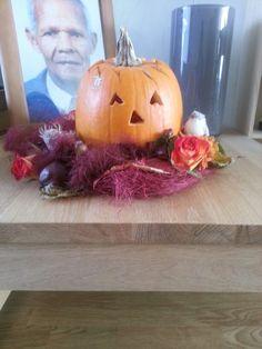 Herfstkrans met poenpoem