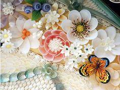 Sailor's Valentine - Seashell Floral Ideas