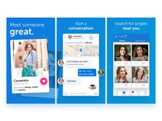 Match.com App Store screenshots by Sean Lester - Dribbble