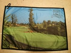 Have a look at the stunning towel that our friends at G&G Golf Company made for 20th anniversary.