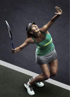 Maria Sharapova - Sports et équipement - Tennis - Nike Pro Tennis, Tennis News, Nike Tennis, Maria Sharapova, Sharapova Tennis, Alex Morgan, Foto Sport, Tennis Serve, Tennis Equipment