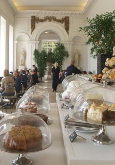 Tea at Kensington Palace