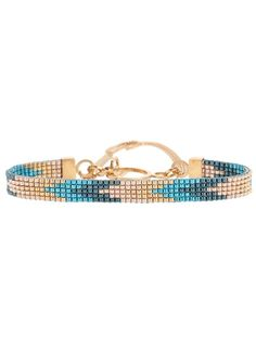 Explore our selection of designer bracelets for women at Farfetch. Get fast shipping on Gucci bracelets & Saint Laurent cuffs. Bead Loom Bracelets, Beaded Bracelet Patterns, Bead Loom Patterns, Bracelet Crafts, Beaded Jewelry Designs, Diy Jewelry, Jewelery, Handmade Jewelry, Jewelry Making