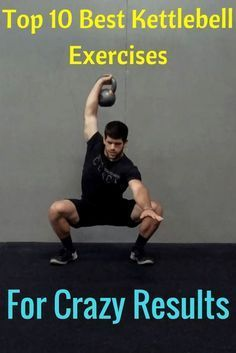 Top 10 Best Kettlebell Exercises For Crazy Results | Home Training Gym