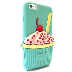 Esta funda es uno de los accesorios de moda que te recomendamos para tu iPhone.  #accesorios #iPhone #moviles #funda #cupcake
