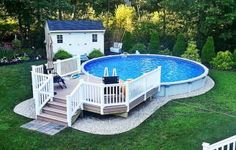 Top 60 Diy Above Ground Pool Ideas On A Budget