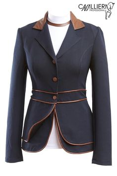 Cavalliera's Snake Magnifique Softshell Jacket for ladies at Mary's is a navy equestrian hunt coat with faux snake details & feminine style. Equestrian Chic, Equestrian Outfits, Equestrian Fashion, Riding Habit, Riding Gear, Riding Boots, Clothes Horse, Riding Clothes, Riding Outfits