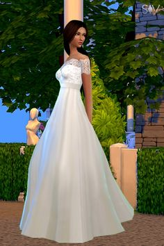 simsvita:   Find the perfect wedding dress in luxysims's new collection   More details: http://www.simsvita.com/articles/fashion/wedding-collection-r36/