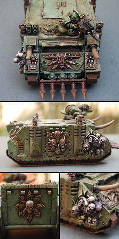 Nurgle, Death Guard, Rhino Transport
