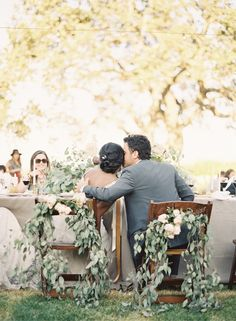 santa ynez wedding via once wed