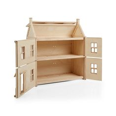 If you're looking for the dollhouse of your dreams, look no further. Because our Victorian Dollhouse is like no other playtime abode you've ever seen. Dollhouse Kits, Wooden Dollhouse, Dollhouse Bookcase, Dollhouse Dolls, Dollhouse Miniatures, Victorian Dollhouse Furniture, Diy Wooden Crate, Crate Bookshelf, Doll House Plans
