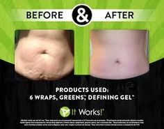 it works products...Use these 3 to get great results. Wrap, Greens & Defining Gel