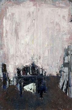 JACEK SIENICKI (1928 - 2000)  WNĘTRZE PRACOWNI, 1970   olej, płótno / 144,5 x 95,5 cm  opisany na odwrocie: Jacek/ Sienicki/ ol.pł.
