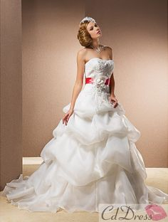 wedding dress wedding dress with color wedding dresses