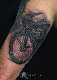 Mike DeVries - Husqvarna Tattoo