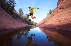 Long Canyon is a 7-mile trail adventure in Sedona, AZ, known as the gateway to the Grand Canyon. #trailrunning #running #grandcanyon