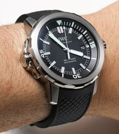 IWC Aquatimer Automatic Watches For 2014 Hands On   hands on