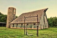 Lovely Old Kansas Barn