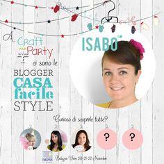 """Le blogger #CasaFacile a #CraftYourParty! Scopri con noi le blogger protagoniste che troverai a #ilmondocreativo Oggi vi presentiamo Isabella Marinozzi - www.isabodesign.com """"Sono una graphic designer con la passione per l'handmade, il design d'interni e l'home decor. Da qualche anno ho creato il marchio ISABO in cui racchiudere tutti questi interessi e il resto del mio mondo fatto di personaggi buffi e curiosi."""" #bologna"""