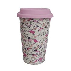 Kohl's Cares LC Lauren Conrad Bird Thermal Travel Mug, cute AND supports breast cancer research, yes please!