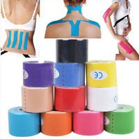 1 Roll Kinesiology Sports Tape Muscles Care Elastic Physio Therapeutic v6