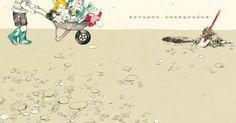 Cuando no estás aquí de María Hergueta, álbum ilustrado editado por la editorial de Taiwan Grimm Press. http://libros-cuentos-infantiles-juveniles.elparquedelosdibujos.com/2015/10/cuando-no-estas-aqui-album-ilustrado-por-la-ilustradora-maria-hergueta.html