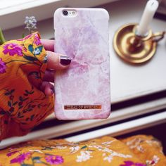Pilion Pink Marble by @flarback - Fashion case phone cases iphone inspiration iDeal of Sweden #pink #marmor #gold #fashion #inspo #iphone #rosa