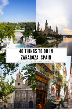 Zaragoza is full of things to do from Museums to Religious Sites to Parks to Chocolate Tasting. Here are a few ideas from my time there!