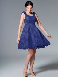 Pin to Win a Wedding Gown or 5 Bridesmaid Dresses! Simply pin your favorite dresses on www.forherandforhim.com to join the contest!   Lace and Bows Dress $179.99