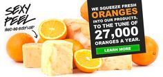 We squeeze over 27,000 Oranges a year in to our products.