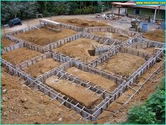 Discover ways to make a Baldrame or Working Shoe! Concrete Structure, Building Structure, Building Design, Building A House, Concrete Footings, Concrete Stairs, Concrete Houses, Framing Construction, Civil Construction