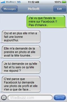 Ta mère sur Facebook !