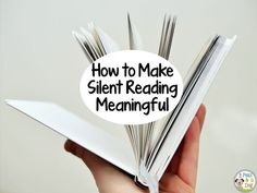 2 Peas and a Dog: Making Silent Reading (DEAR) Meaningful. Silent reading is not a time filler activity. Make the most out of this time with your students by trying out these four tips.
