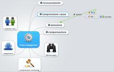 Crisis management: a topic map