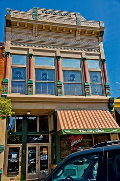 Ogden, Utah - old downtown district