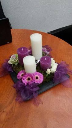 Advent arrangement