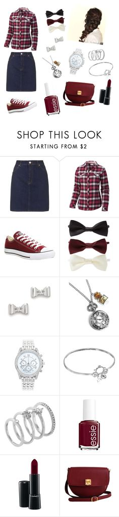 """Laura Christmas"" by lizardbeth95 ❤ liked on Polyvore featuring Topshop, Columbia, Converse, Forever 21, Marc by Marc Jacobs, Lane Bryant, Disney, Vince Camuto, Essie and MAC Cosmetics"
