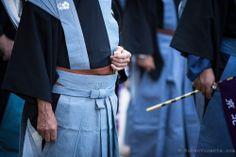 Men dressed as samurai during Jidai Matsuri. Kyoto, Japan