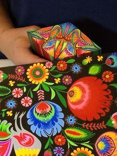 Cane and color inspiration by Lisa Gauthier, Simmons Master Cane Workshop, Oct, 2014 CarolSimmonsDesigns.com