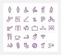 Virgin Atlantic – bespoke pictograms